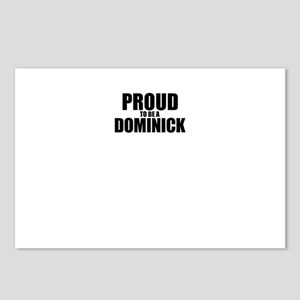 Proud to be DOMINICK Postcards (Package of 8)
