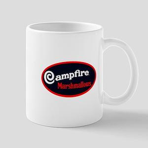 Campfire Marshmallows vintage logo oval Mugs
