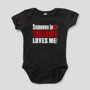 Someone In Tanzania Loves Me Baby Bodysuit
