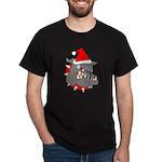 Christmas Devil Dog Dark T-Shirt