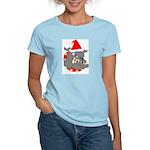 Christmas Devil Dog Women's Light T-Shirt