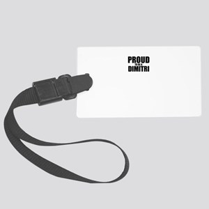 Proud to be DIMITRI Large Luggage Tag