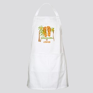 Honeymoon Cancun BBQ Apron