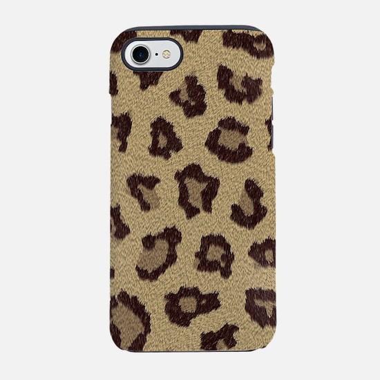 Leopard Print iPhone 8/7 Tough Case