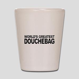 World's Greatest Douchebag Shot Glass