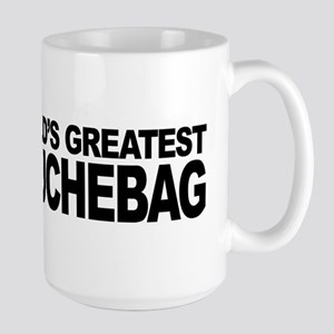 World's Greatest Douchebag Large Mug