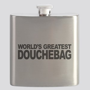 World's Greatest Douchebag Flask