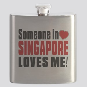 Someone In Singapore Loves Me Flask