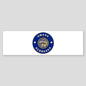 Omaha Nebraska Bumper Sticker