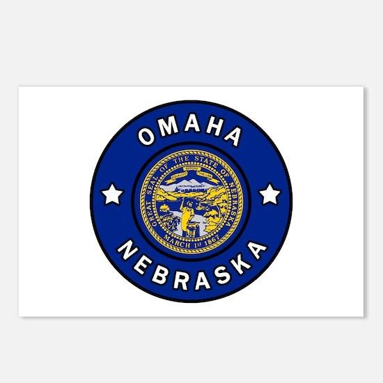 Omaha Nebraska Postcards (Package of 8)