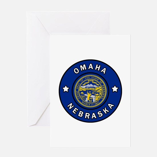 Omaha Nebraska Greeting Cards