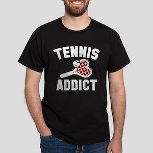 Tennis Addict Dark T-Shirt