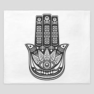 Evil Eye Spiritual Symbol King Duvet