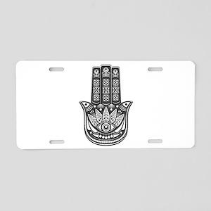 Evil Eye Spiritual Symbol Aluminum License Plate
