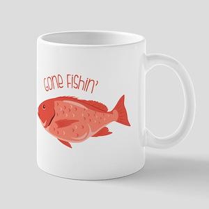 Gone Fishin Mugs