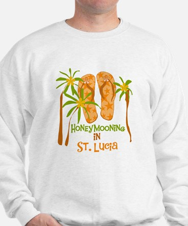 Honeymoon St. Lucia Sweatshirt