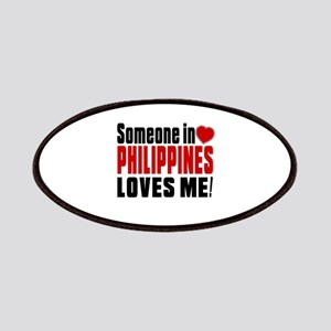 Someone In Philippines Loves Me Patch
