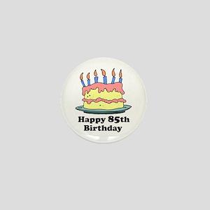Happy 85th Birthday Mini Button