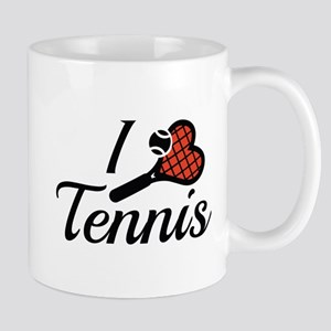 I Love Tennis Mug