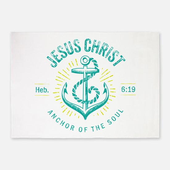 Anchor of the Soul 5'x7'Area Rug