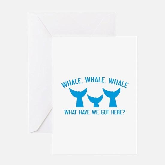 Whale Whale Whale Greeting Card