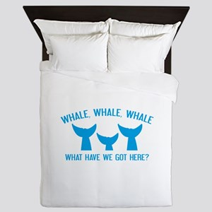 Whale Whale Whale Queen Duvet