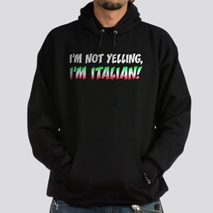 Not Yelling Italian Light Hoodie