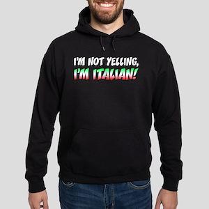 Not Yelling Italian Light Hoodie