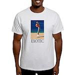 Exotic Ash Grey T-Shirt