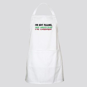 Not Yelling Italian Light Apron
