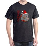 USMC Santa Devil Dog Dark T-Shirt