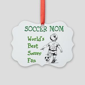 Soccer Mom - Best Fan Ornament
