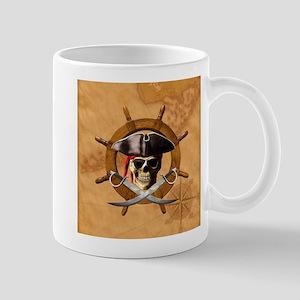 Jolly Roger Pirate Wheel Mugs