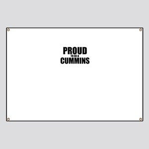 Proud to be CUMMINS Banner
