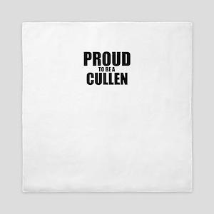 Proud to be CULLEN Queen Duvet