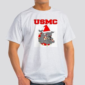 Devil Dog Christmas Light T-Shirt