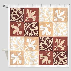 Fleurs de Lys Shower Curtain