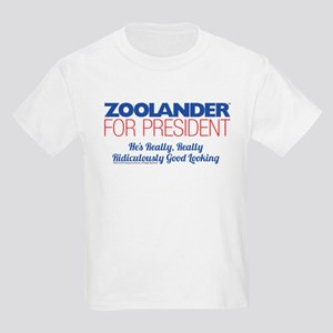 Zoolander for President Kids Light T-Shirt