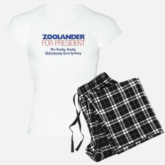 Zoolander for President Pajamas