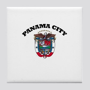 Panama City, Panama Tile Coaster