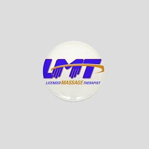 LMT Licensed Massage Therapist Mini Button