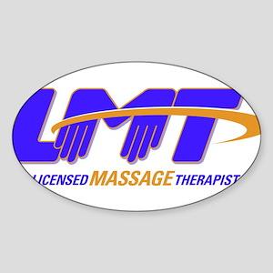 LMT Licensed Massage Therapist Sticker