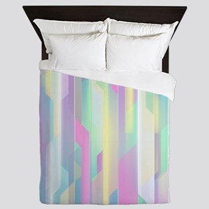 Abstract Colorful Pattern Queen Duvet