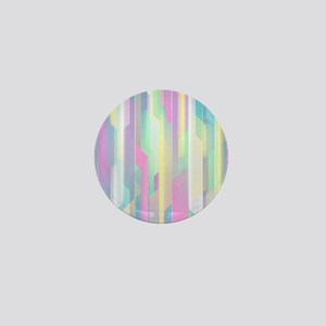Abstract Colorful Pattern Mini Button