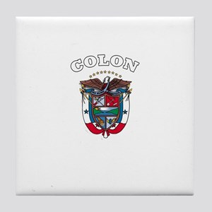 Colon, Panama Tile Coaster