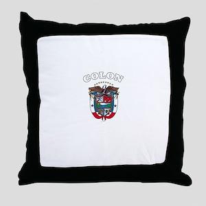 Colon, Panama Throw Pillow