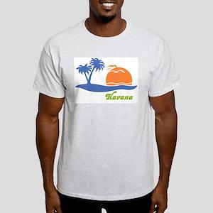 Havana Cuba Ash Grey T-Shirt