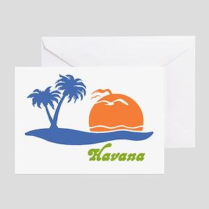 Havana Cuba Greeting Cards (Pk of 10)