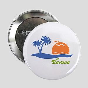 Havana Cuba Button
