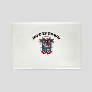 Bocas Town, Panama Rectangle Magnet